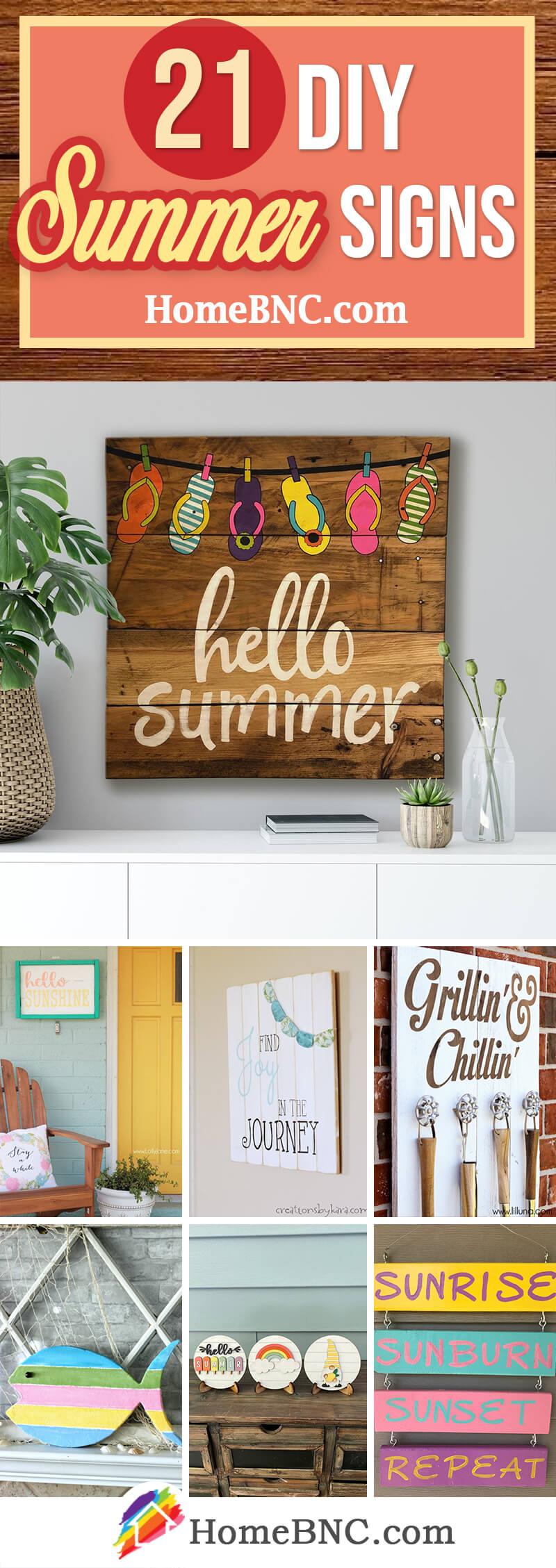 Best DIY Summer Signs