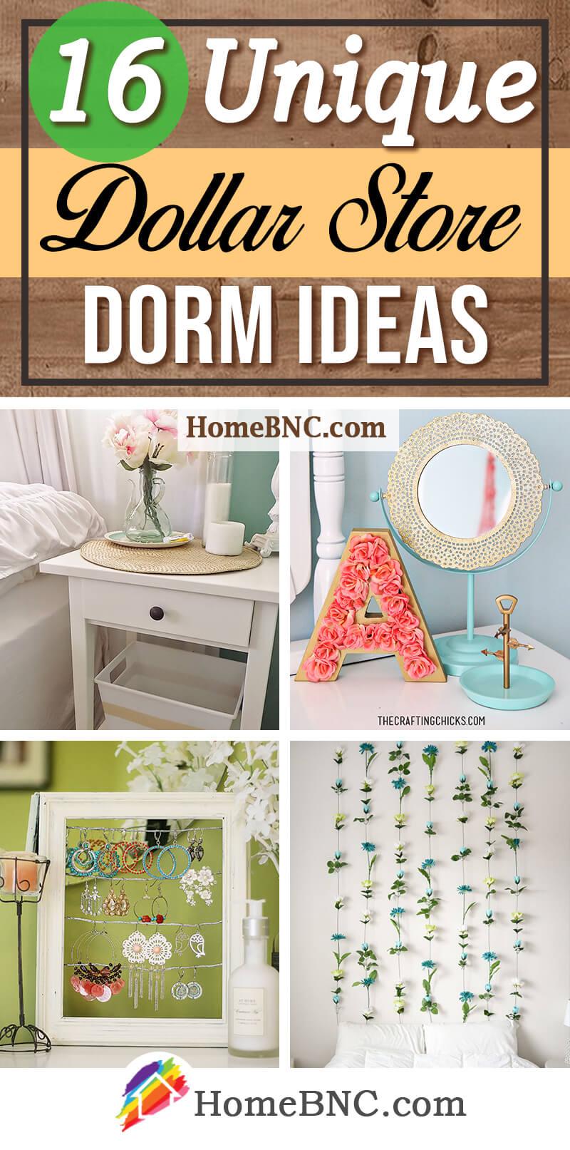 Best Dollar Store Dorm Room Ideas