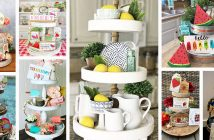 Best Tiered Tray Decor Ideas for Summer