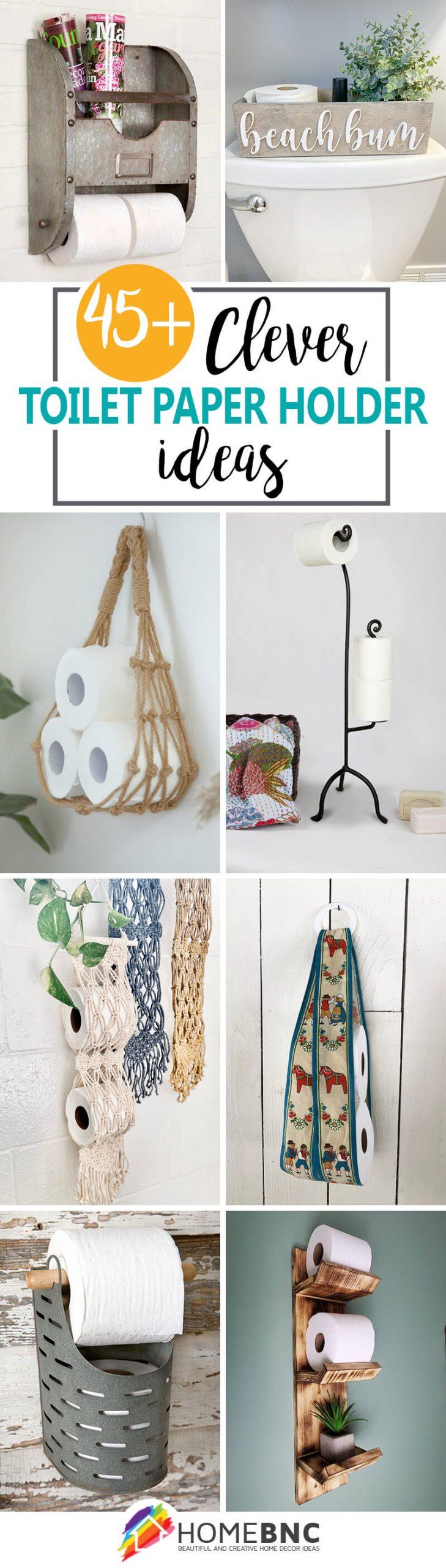 Best Toilet Paper Holder Ideas