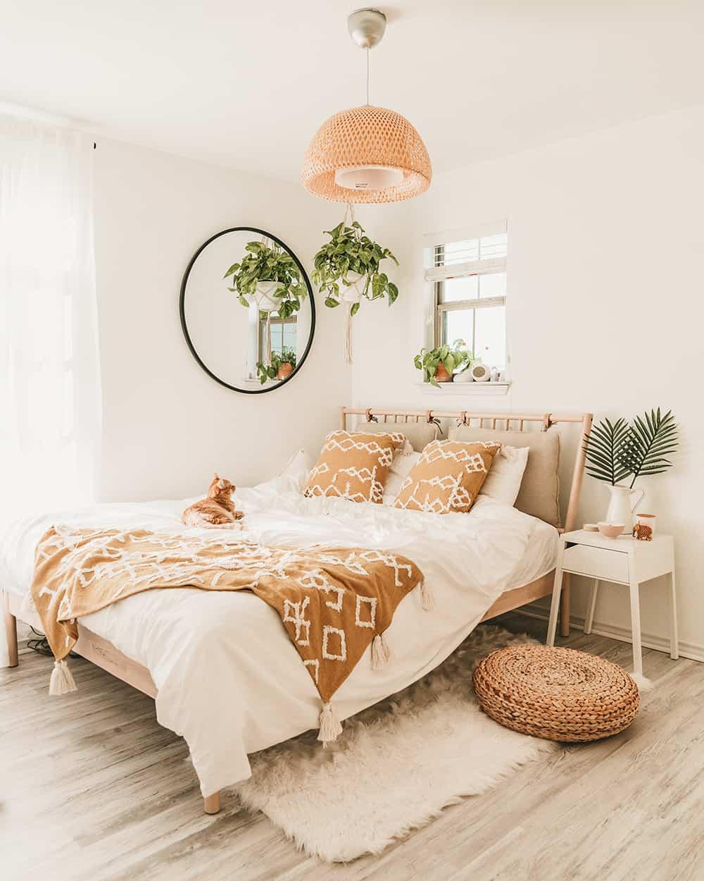 Minimalist IKEA Based Bedroom Makeover
