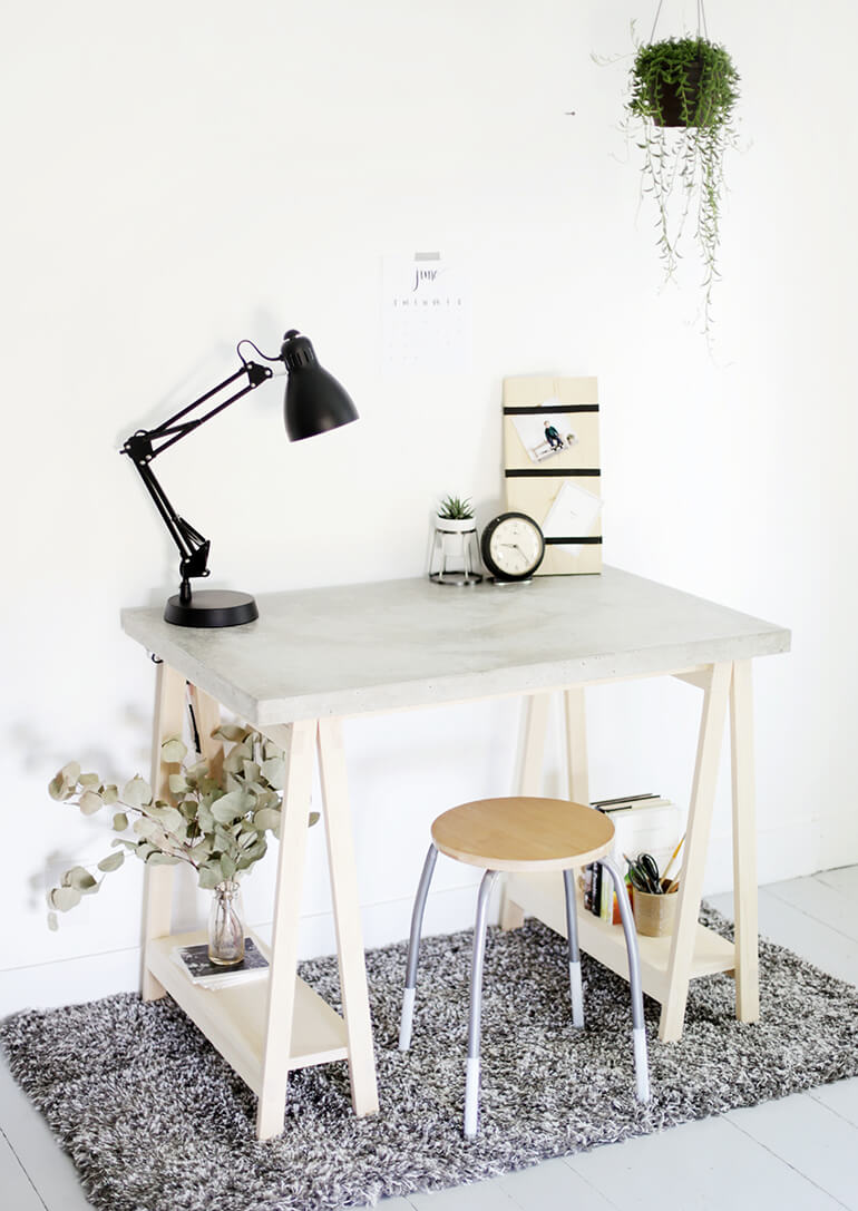 Simple and Compact Concrete Crafting Station