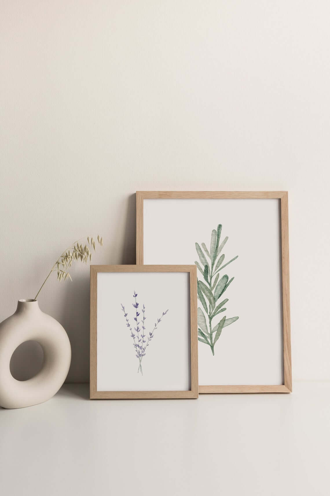Rosemary and Lavender Art Prints