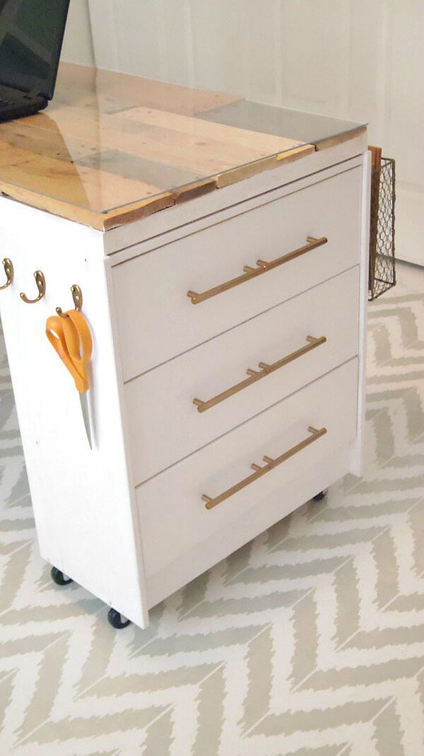 IKEA Rast Crafting Desk Hack