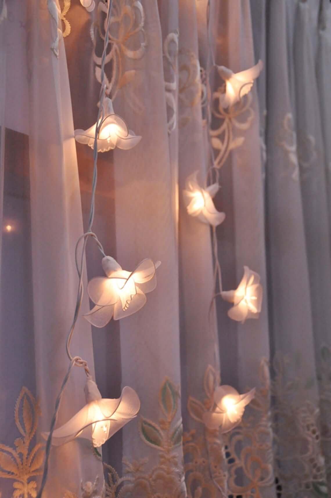 Flower of Life Boho Style Table Lamp