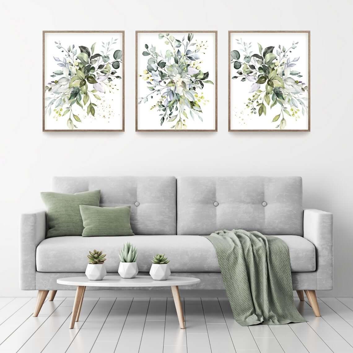 Botanical Abstract Wall Art Painting