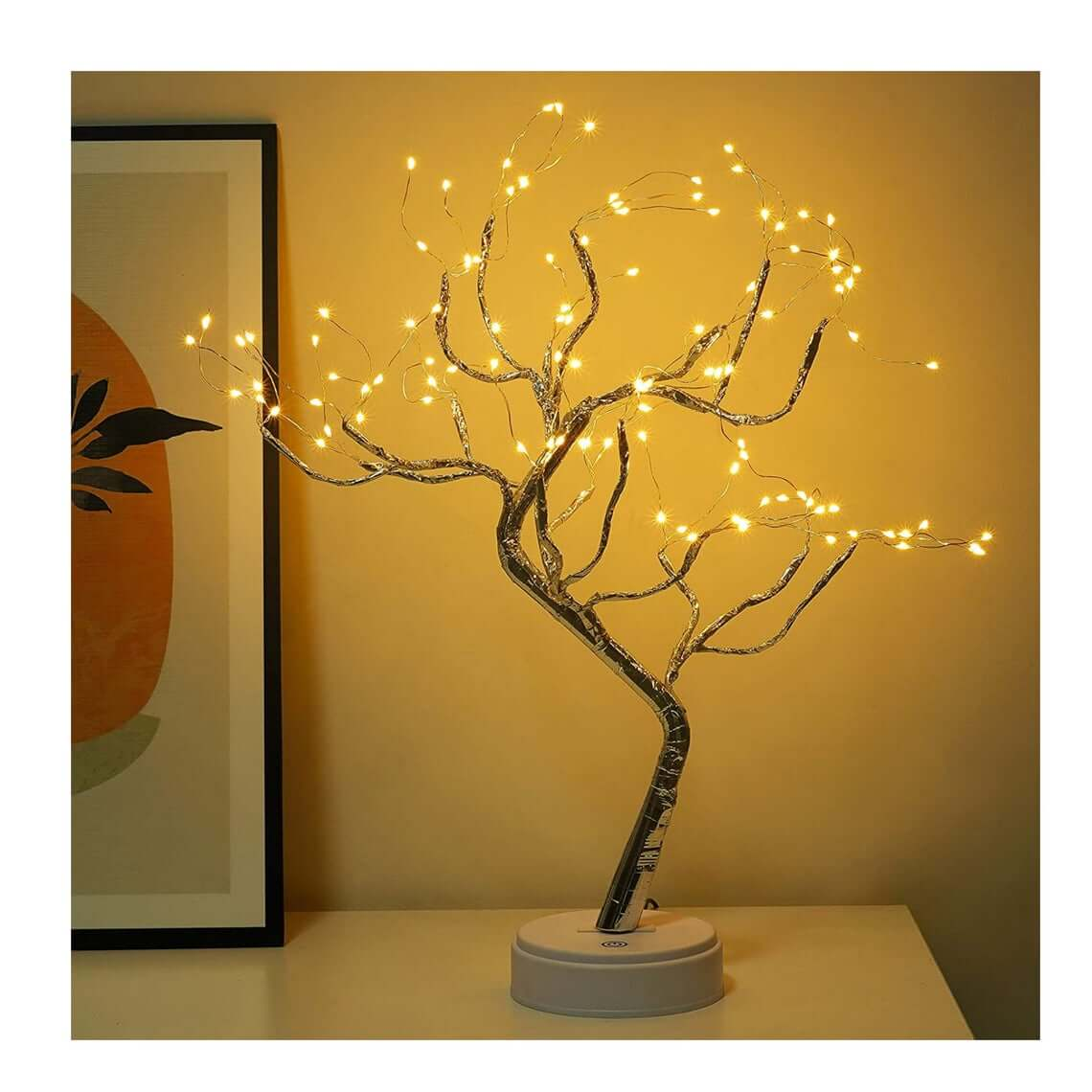 Battery-Powered Bonsai Tree Lamp for Your Fair Bedroom