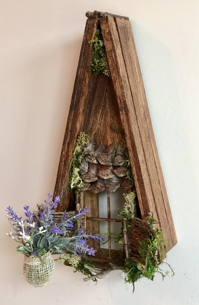 Incredible Fairy Window with Twinkle Light