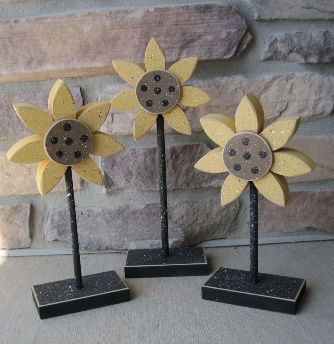 Sunflower Maple Leaf Block Set