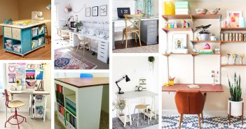 Best DIY Craft Tables and Desk Ideas