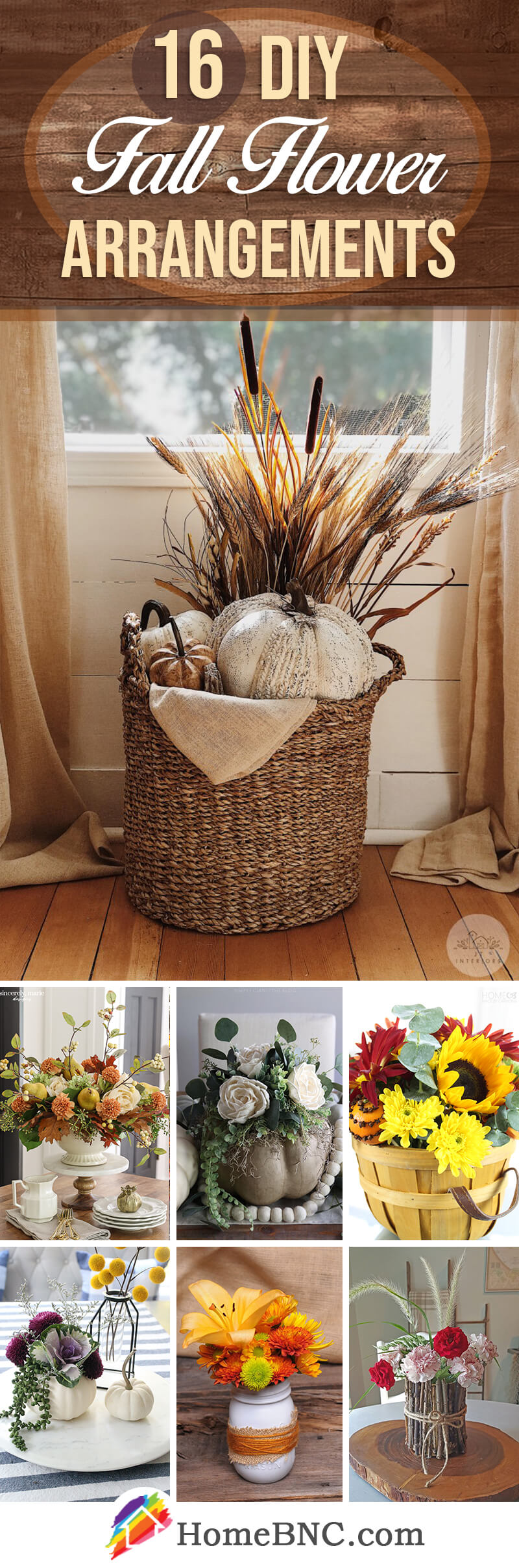 Best DIY Fall Flower Arrangements