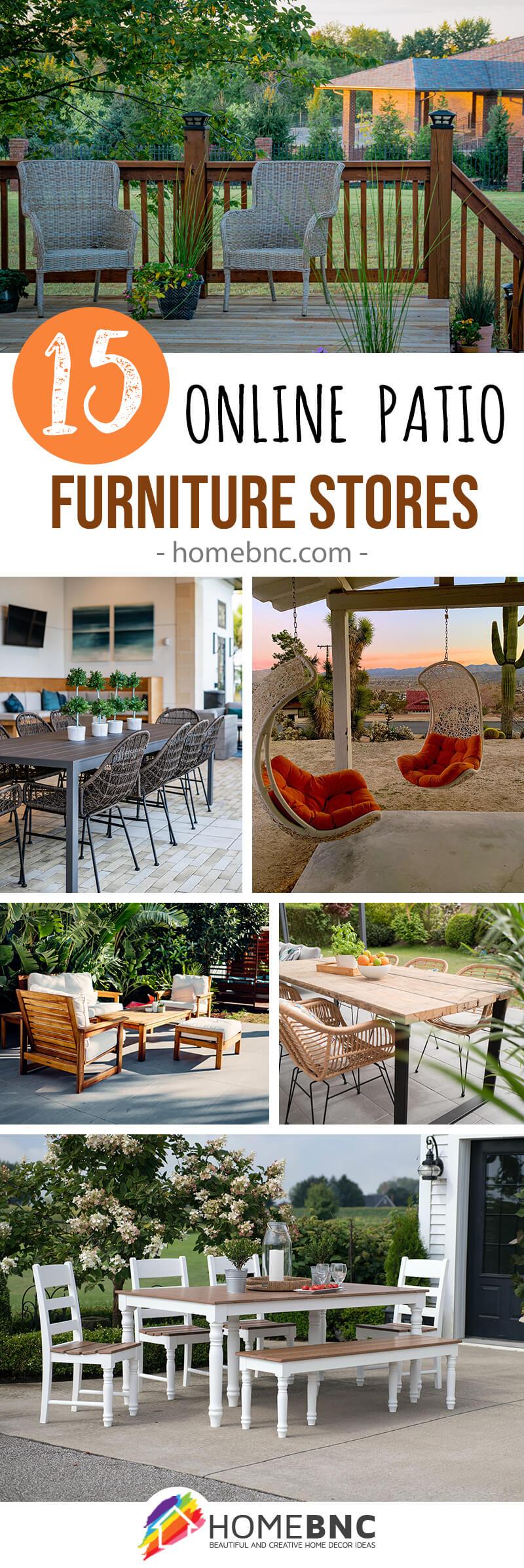 Best Online Patio Furniture Stores