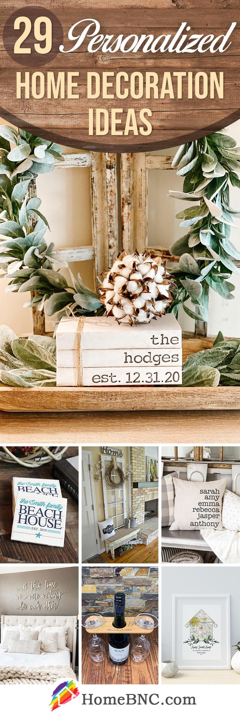 Best Personalized Home Decor Ideas