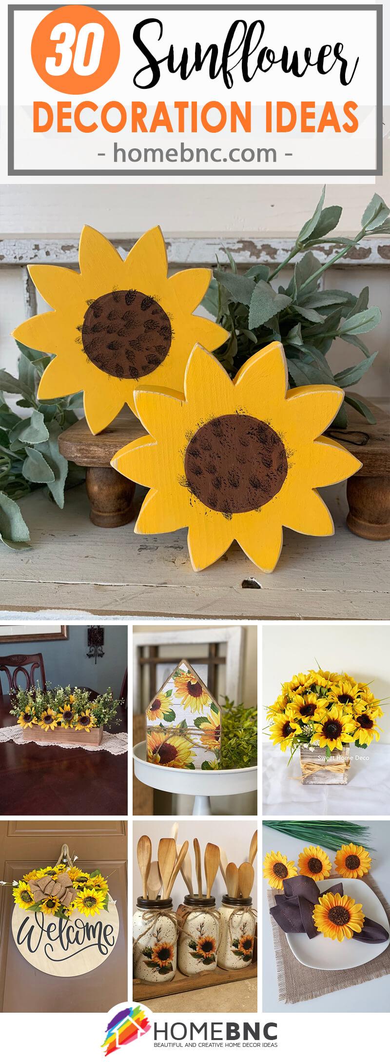 Best Sunflower Home Decor Ideas