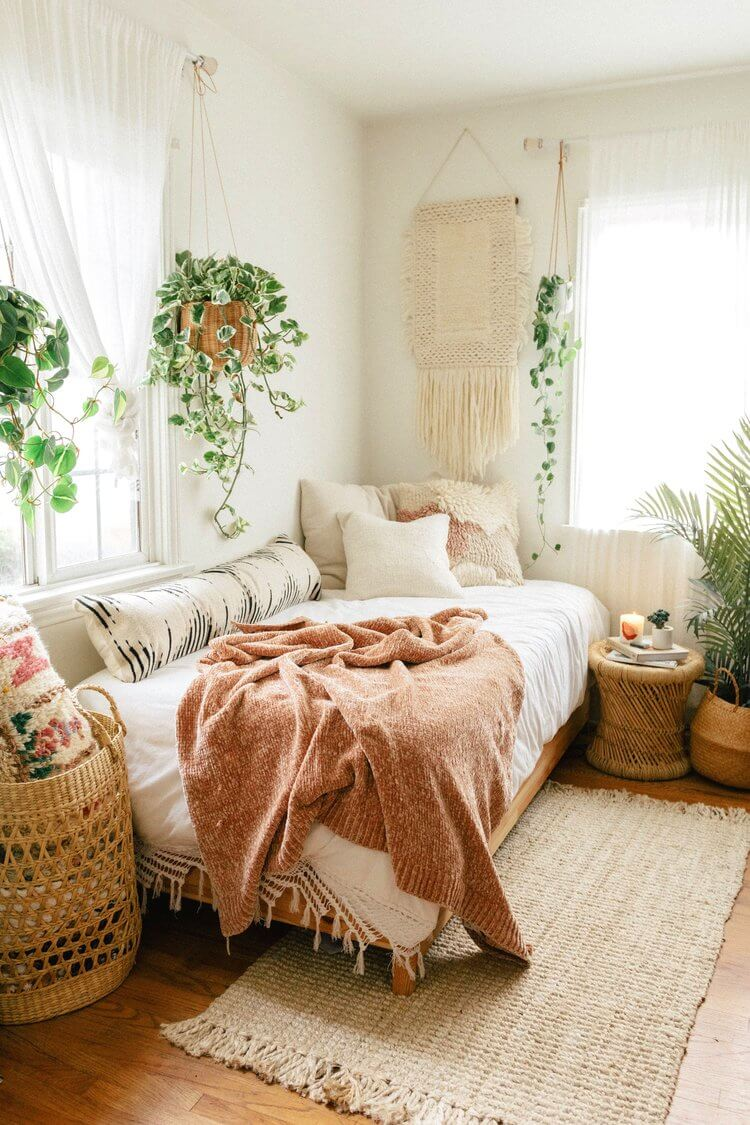 Simple and Cozy Scandi Bedroom