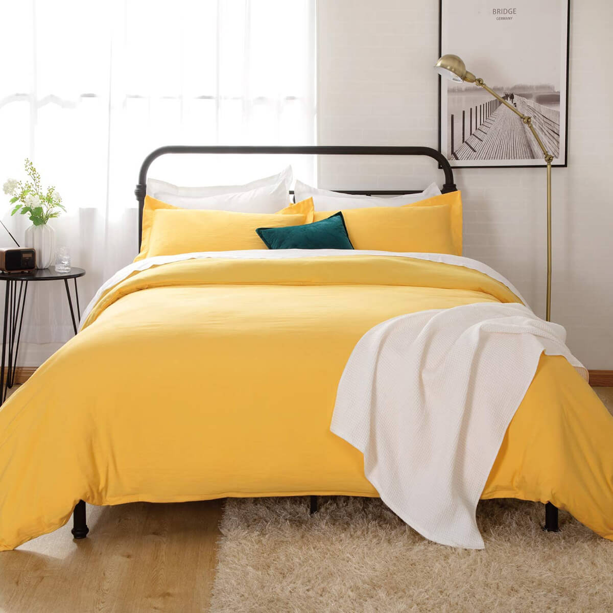 Bedsure Bright and Bold Duvet Bedding