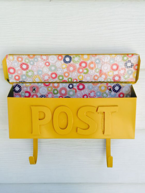 Easy and Affordable Wall Mailbox Makeover