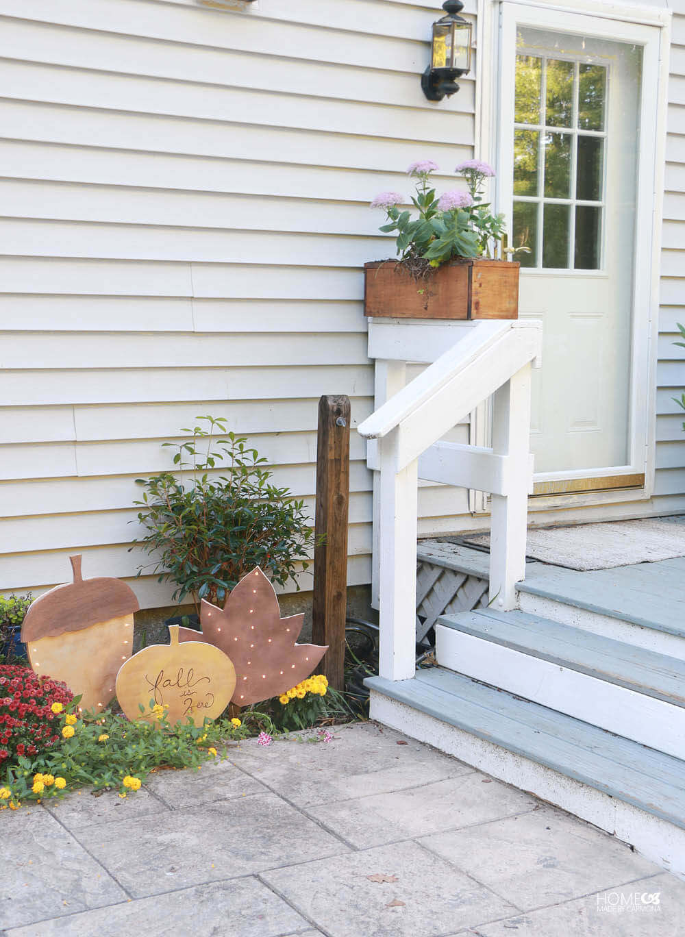 Fall Favorites Cut Out Yard Signs