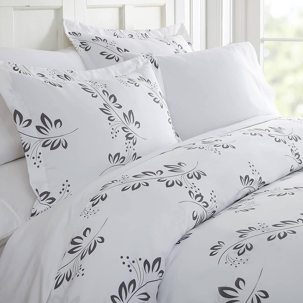 You Choose the Pattern Linen Market Duvet