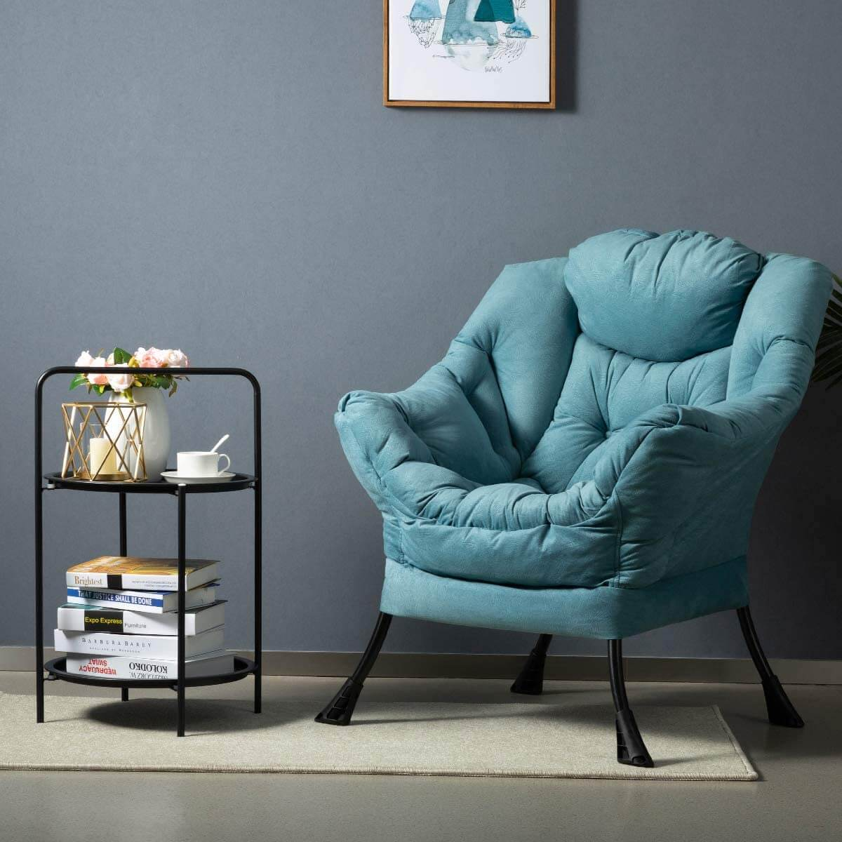 Sophisticated and Modern Accent Lazy Chair