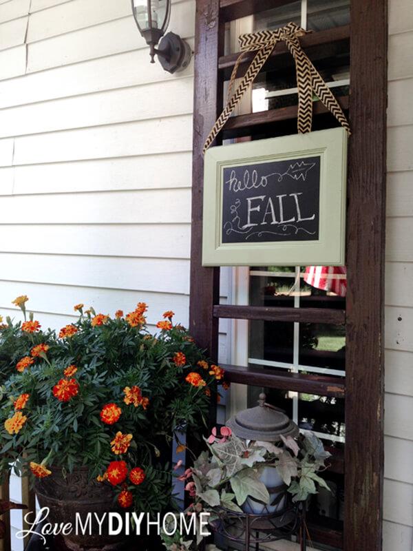 Hello Fall Cozy Front Porch Decor