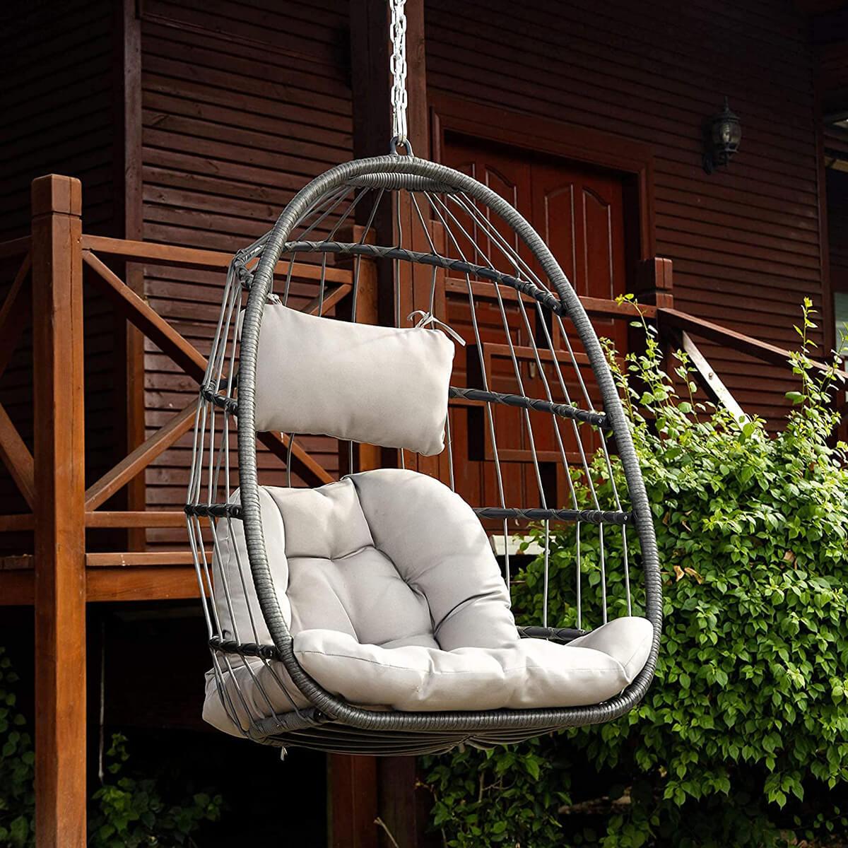 Hanging Hammock Swing Egg Chair