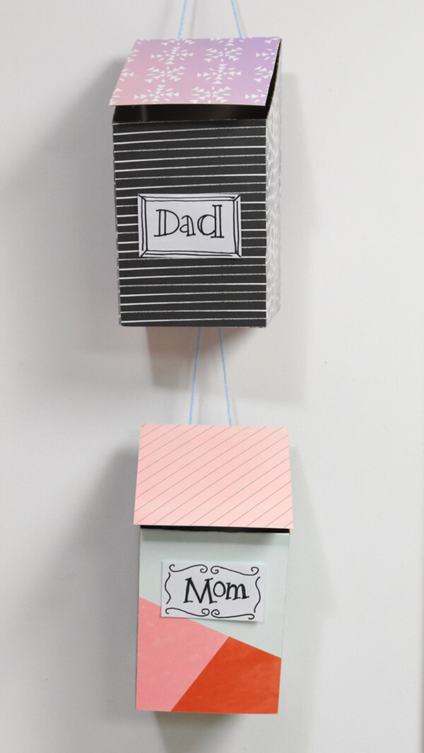 Adorable Personalized Indoor Hanging Mailboxes