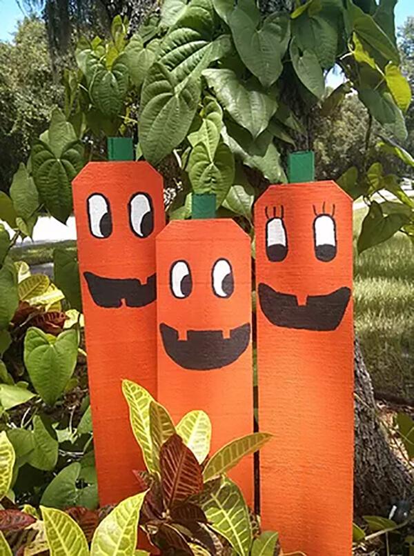 Pallet Pumpkin Patch Family Yard Decor