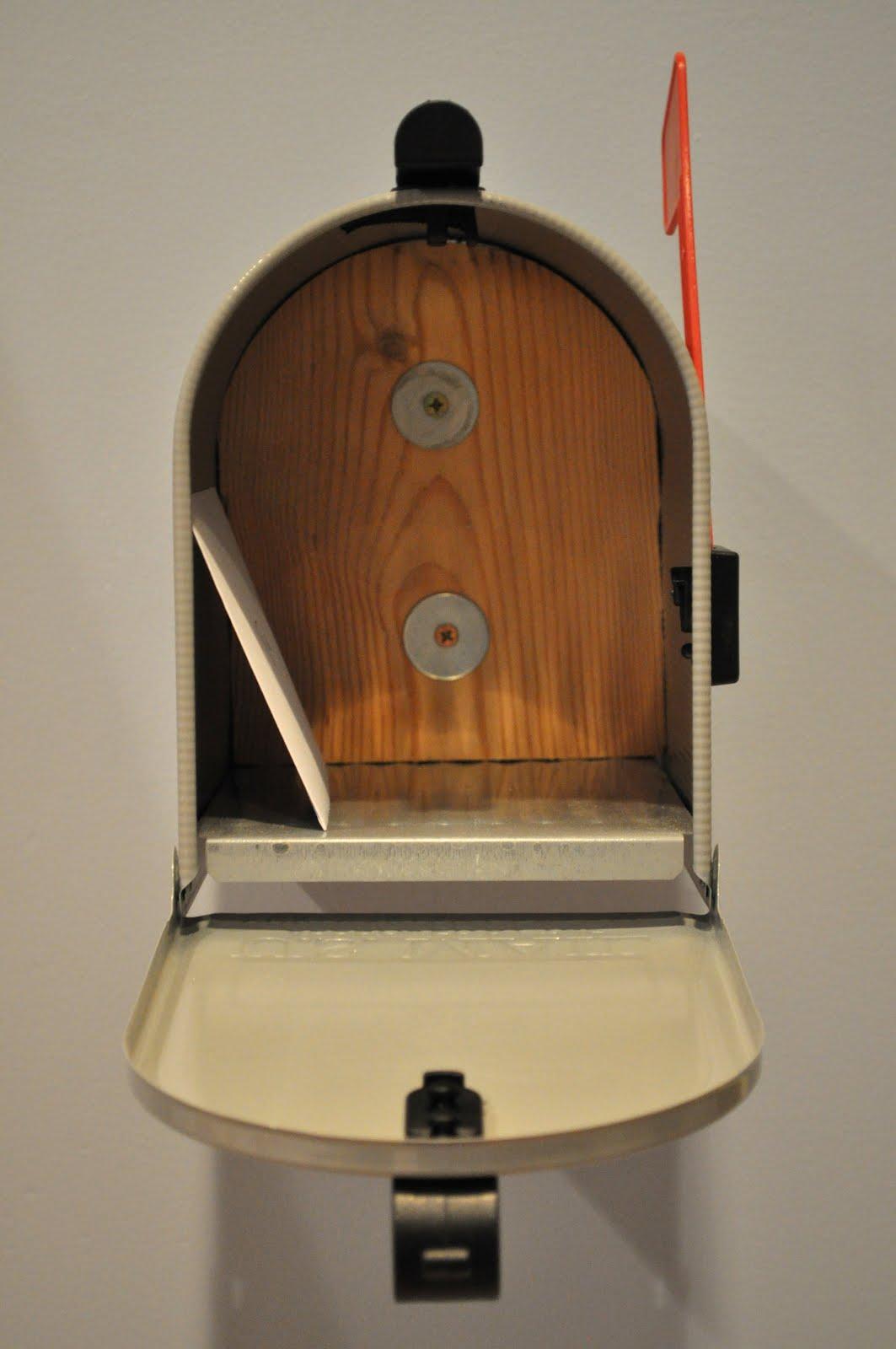 Built-In Playroom Wall Mailbox Design