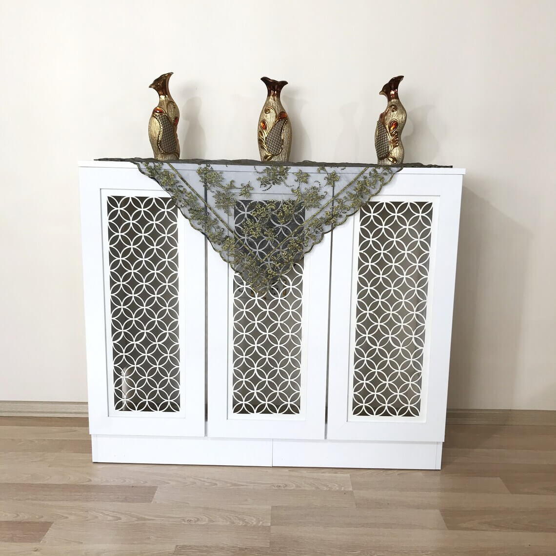 Wooden Rustic Radiator Cover Décor