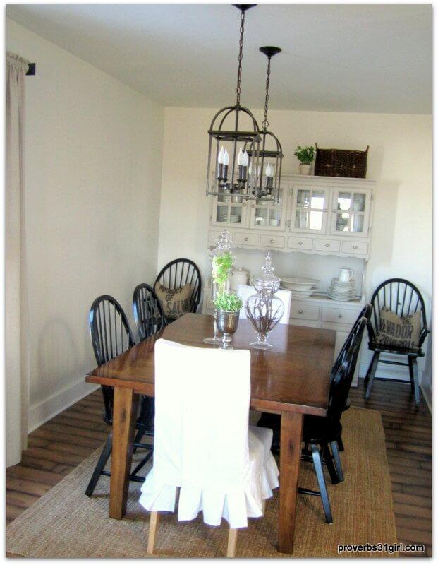 Renovated Furniture with Unique Whitewash