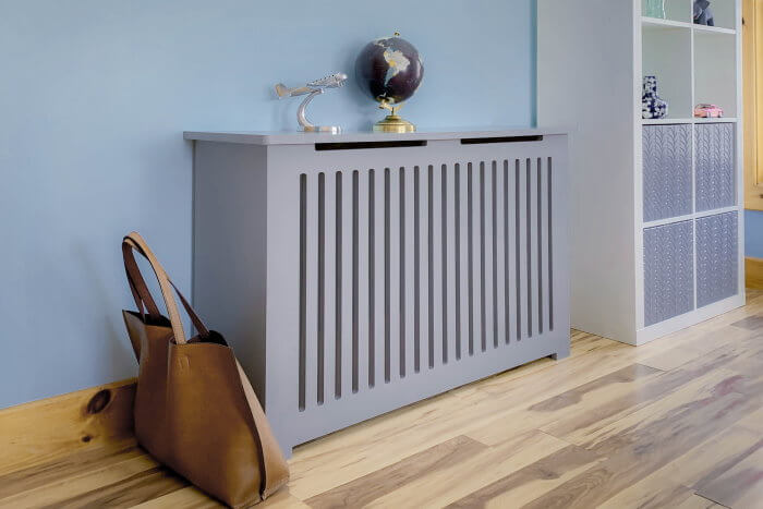 Bold and Large DIY Radiator Cover
