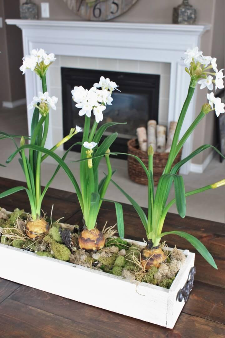 Unique Floral Centerpiece with Artificial Flowers