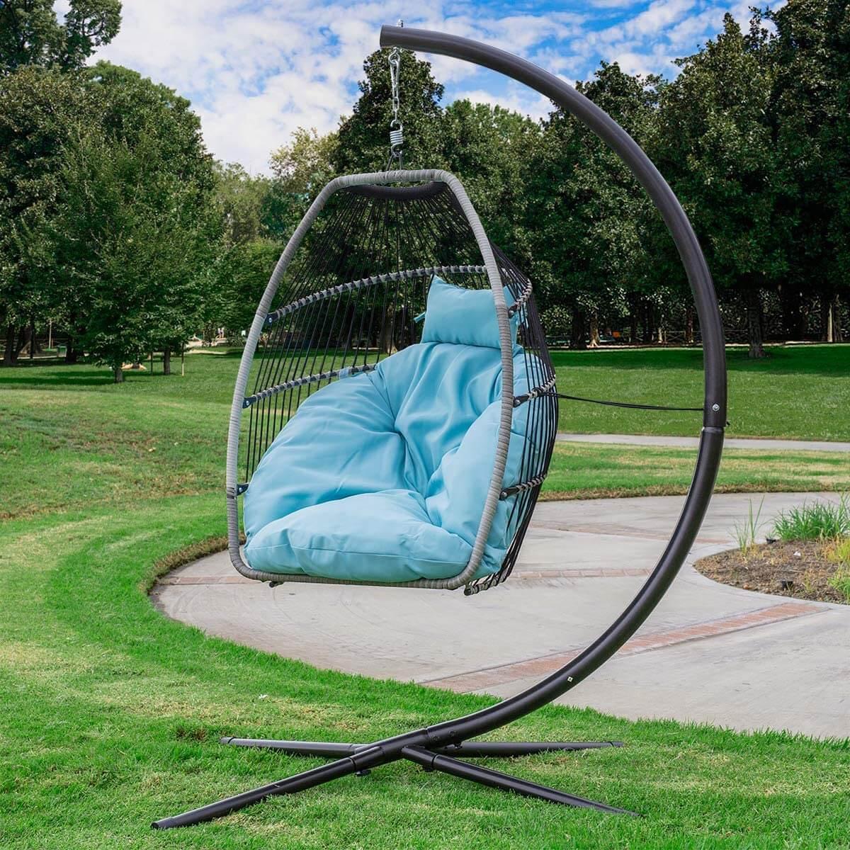 Deluxe Hanging Egg Chair Swing