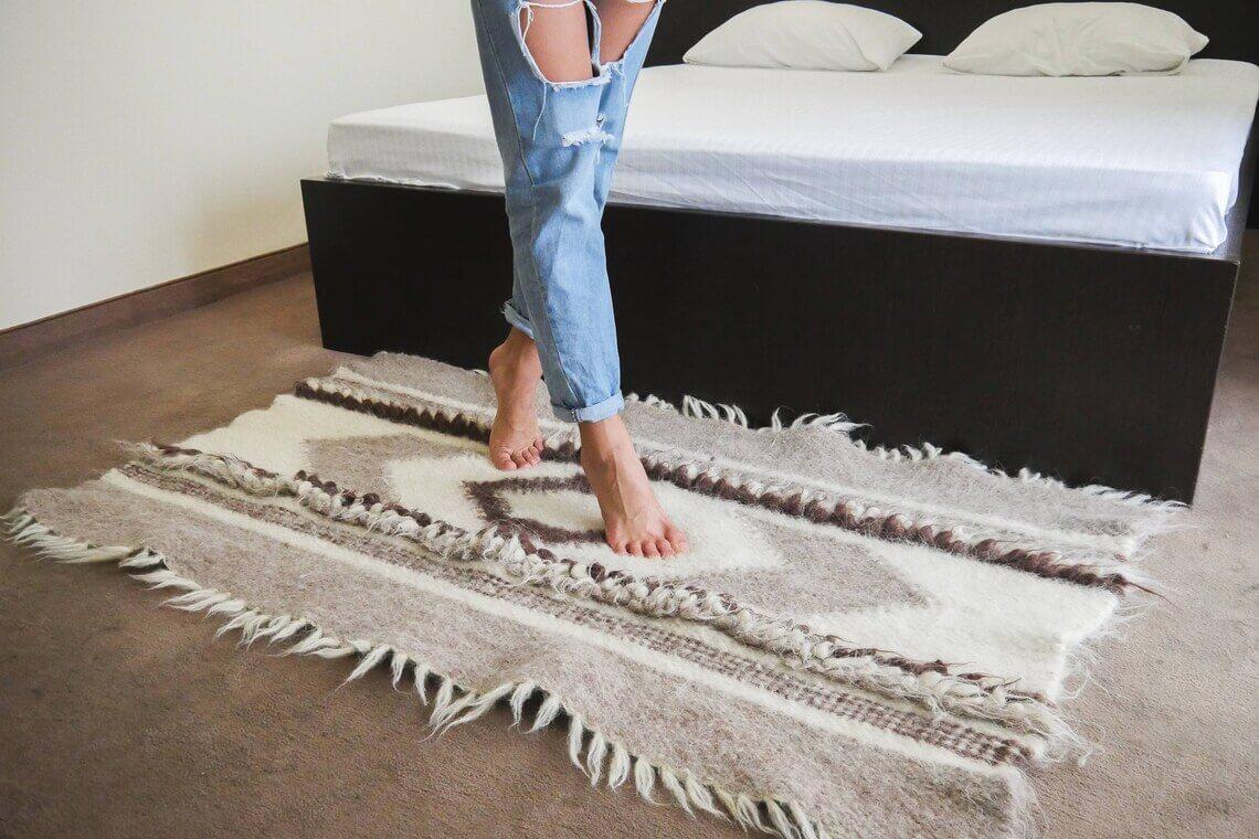 Nordic Wool Scandinavian Carpet Rug