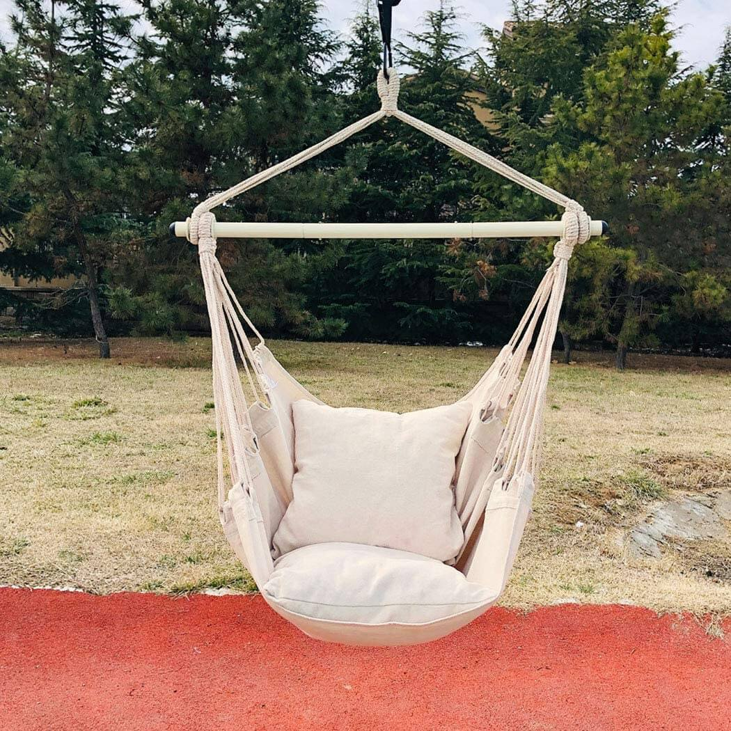 Hanging Hammock Chair and Rope Swing