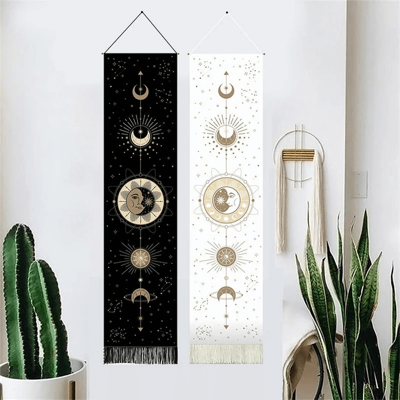 Stunning Moon Phase Wall Tapestry