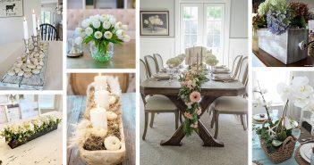 Best Dining Table Centerpiece Ideas