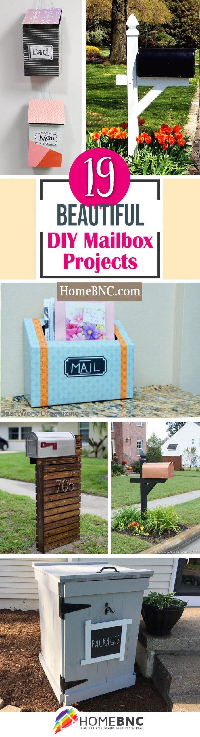 Best DIY Mailbox Ideas