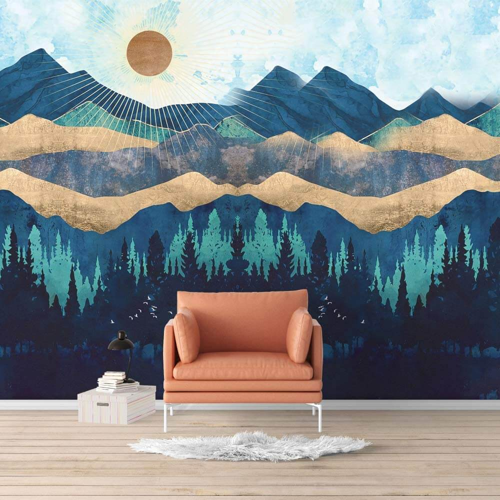 Your Choice Landscape Wall Mural Nordic Style