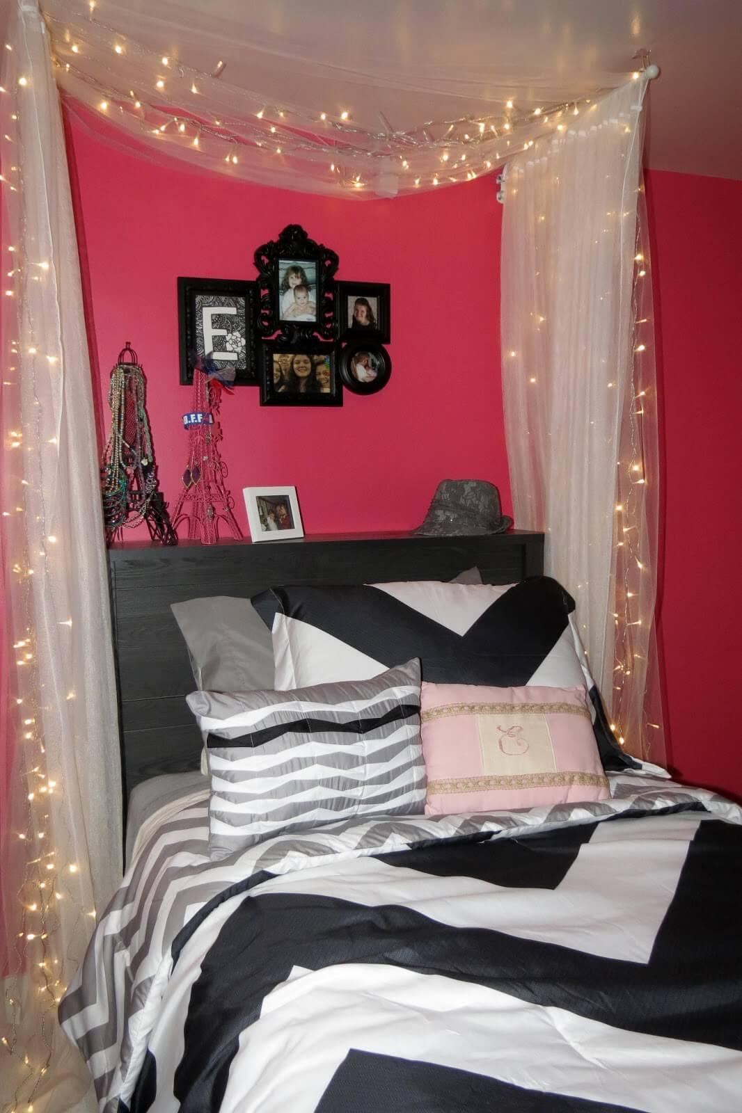 Beautiful Long Curtain Fairy Lights