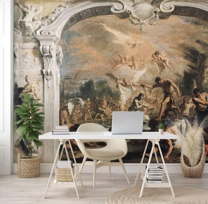 Old World Renaissance Wallpaper Mural