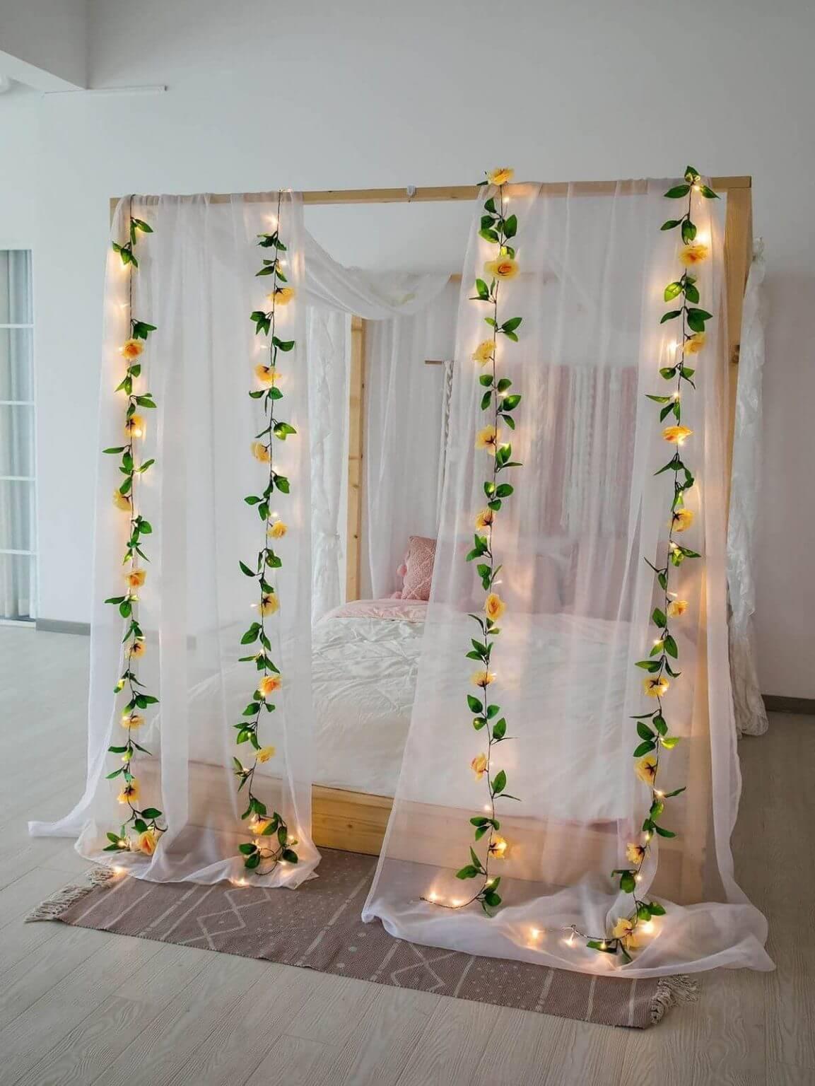 Bulb Flower String Fairy Lights