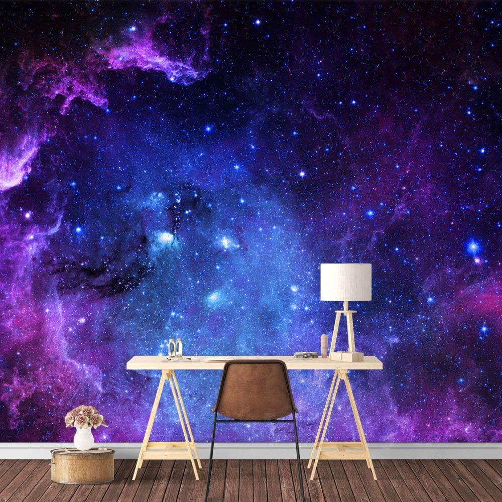 Out-of-this World Galaxy Wallpaper Mural