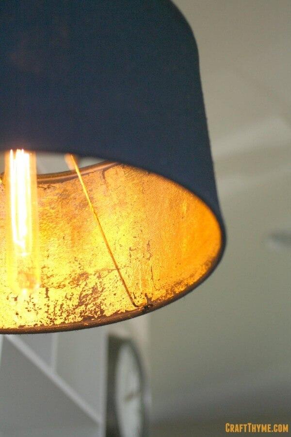 Gold Ambiance Lamp Shade Decor