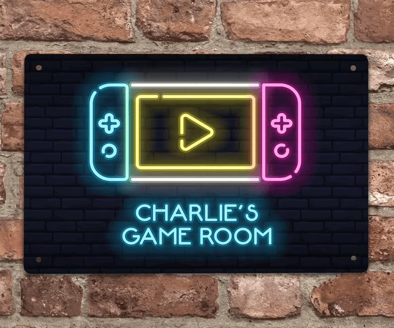 Great Den Room Gameboy Neon Sign