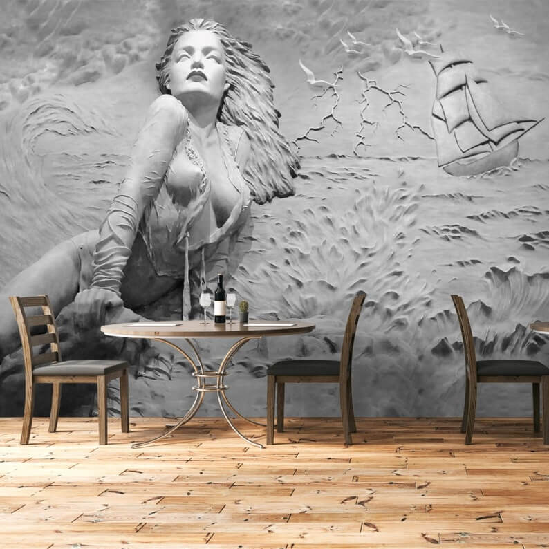 Stunning Beauty of the Sea Wall Mural