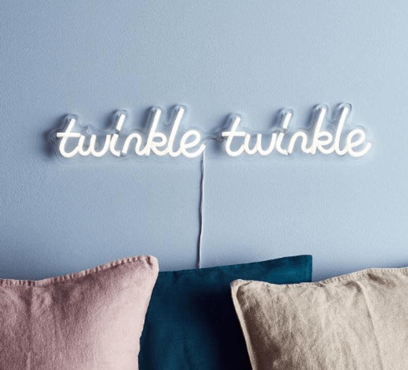 Customizable Neon Bedroom Wall Decor