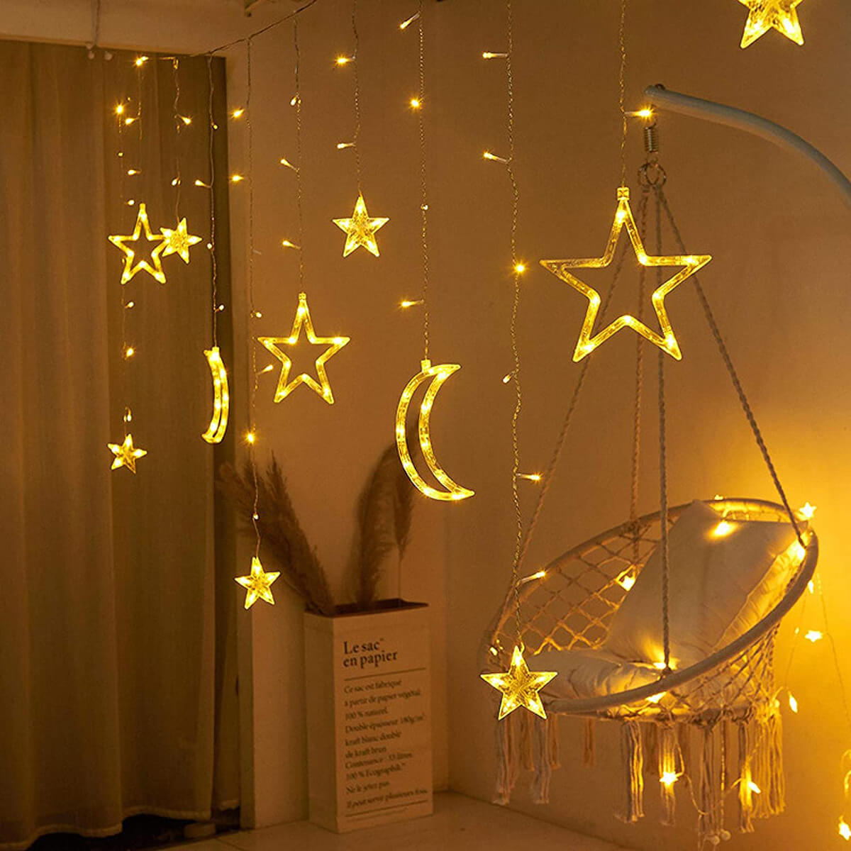 Incredible Twinkling Star LED Fairy Lights