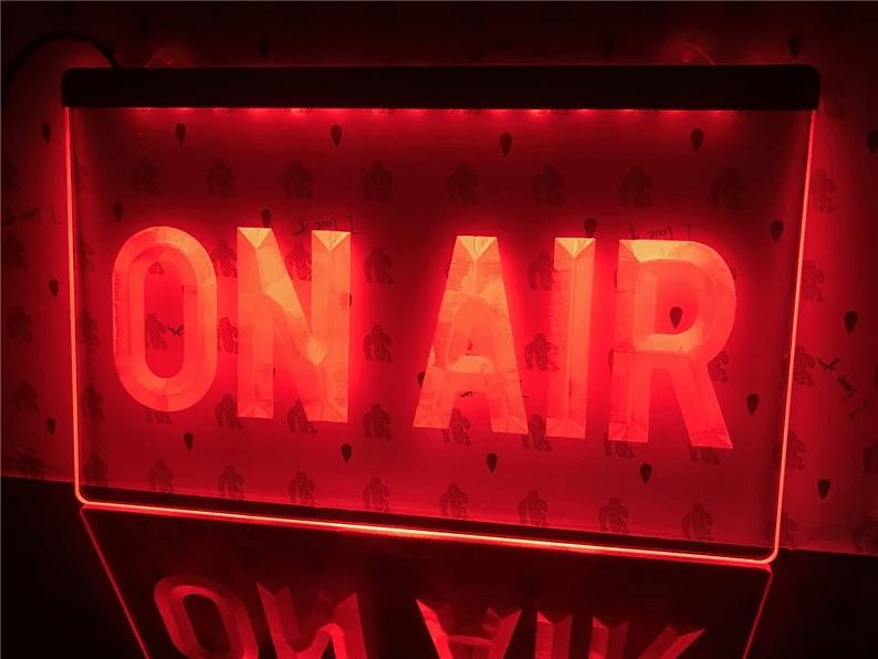 Cool Radio Station On Air Neon Flair